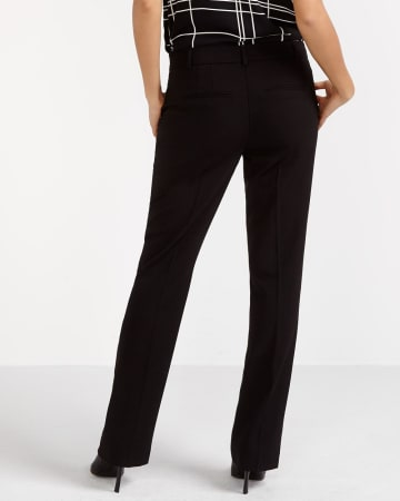 Boot Cut Solid Pants