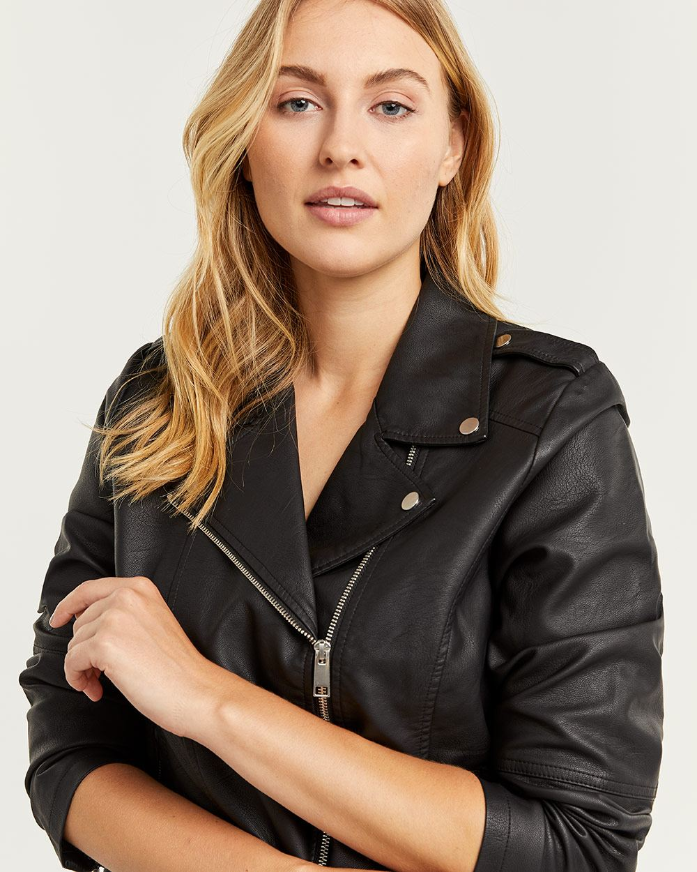 Faux Leather Perfecto Jacket
