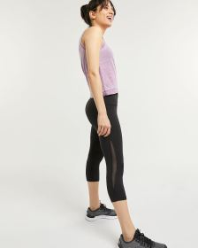 Capri Leggings with Mesh Hyba