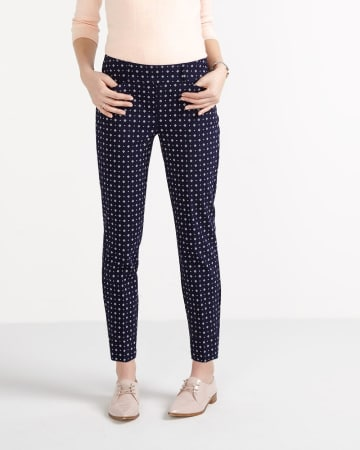 The Petite Iconic Printed Ankle Pants