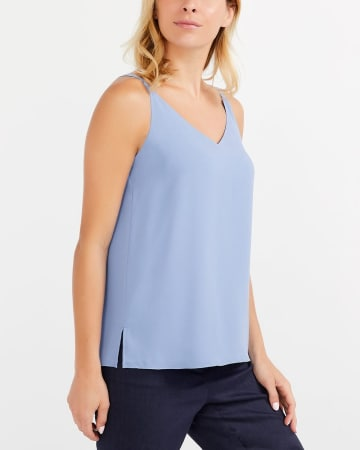 Willow & Thread V-Neck Strap Top