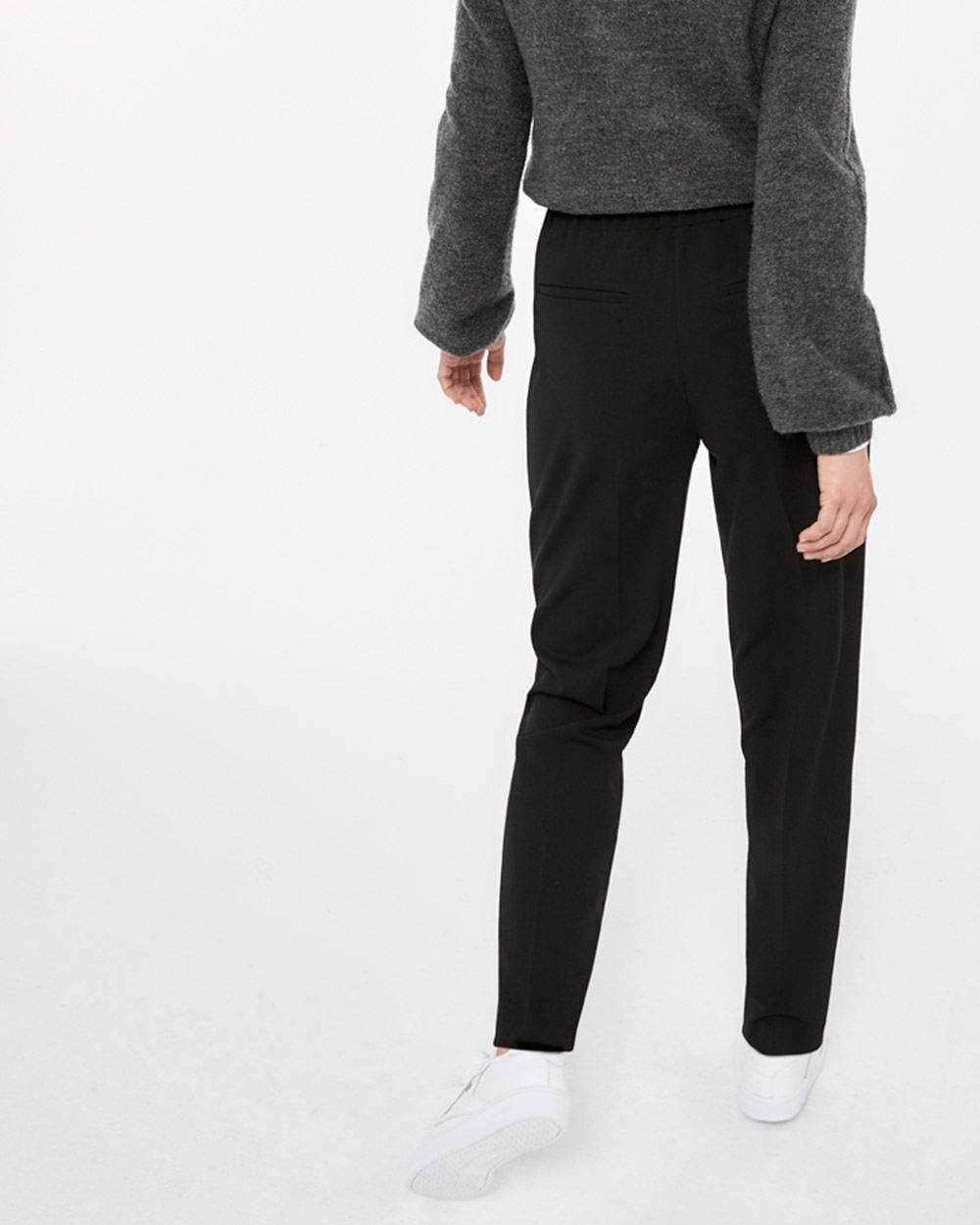 Pleated Ankle Pants