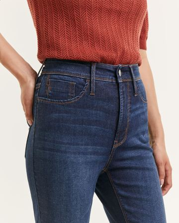 Super High Rise Cropped Skinny Jeans The Curvy