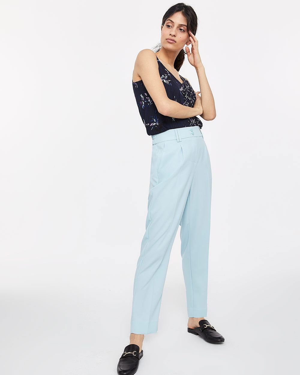 Ankle Slim Leg Pants - Tall