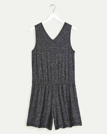 Sleeveless Romper with Elastic Waist Hyba
