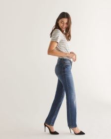 The Tall Insider Medium Wash Straight Leg Jeans