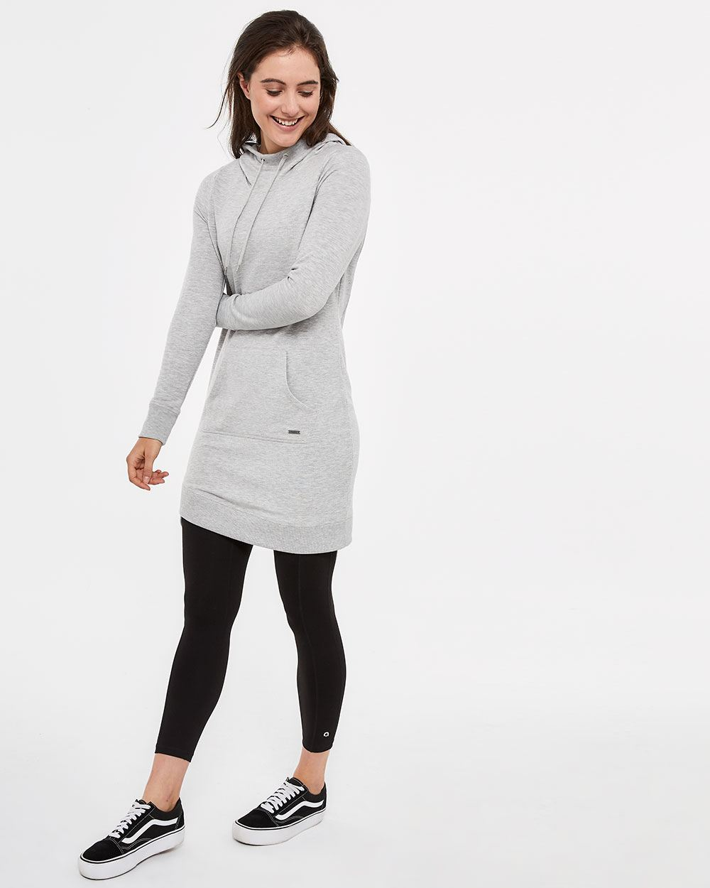 Hyba Knitted French Terry Dress