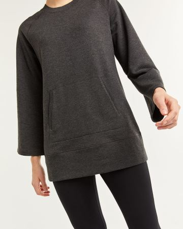 Hyba Wide Sleeve French Terry Tunic