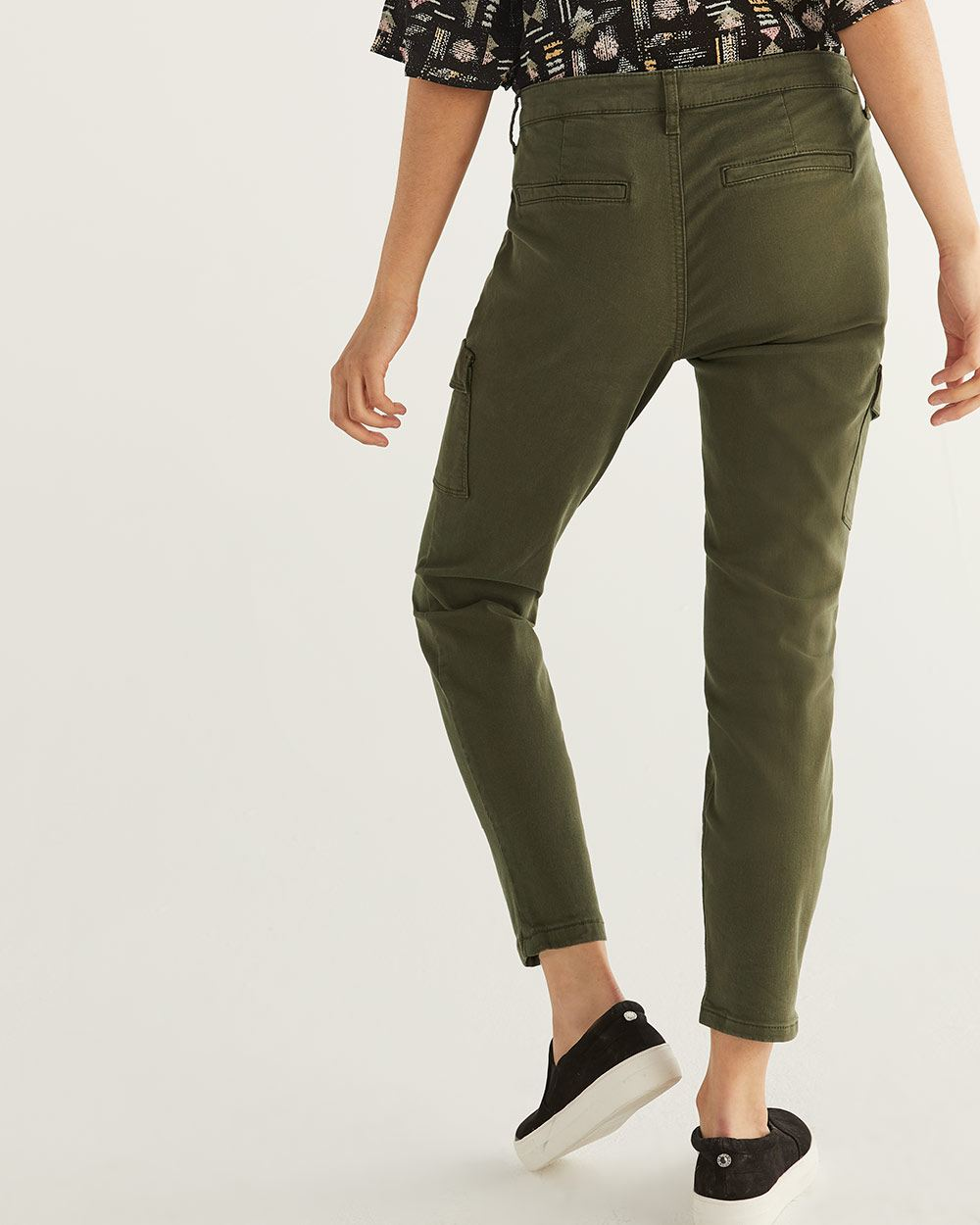 Skinny Ankle Cargo Pants - Tall