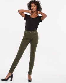 Le Jeans Sculptant skinny coloré Long