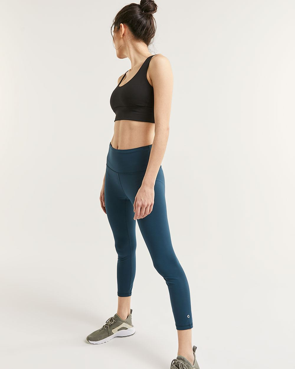 High Waist Cropped Leggings Namaste Hyba