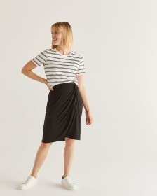 Tulip Black Skirt