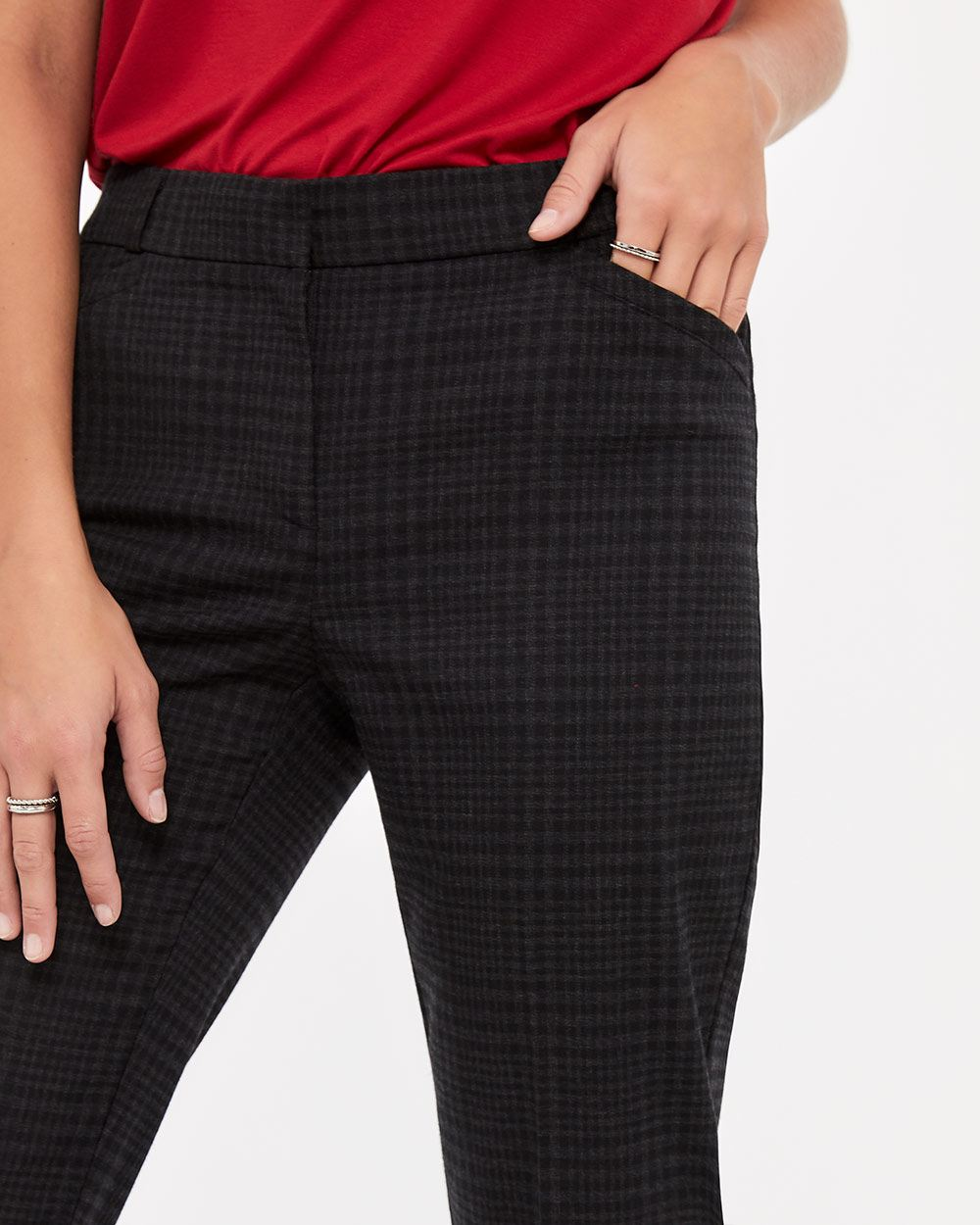 The New Classic Straight Leg Pattern Pants