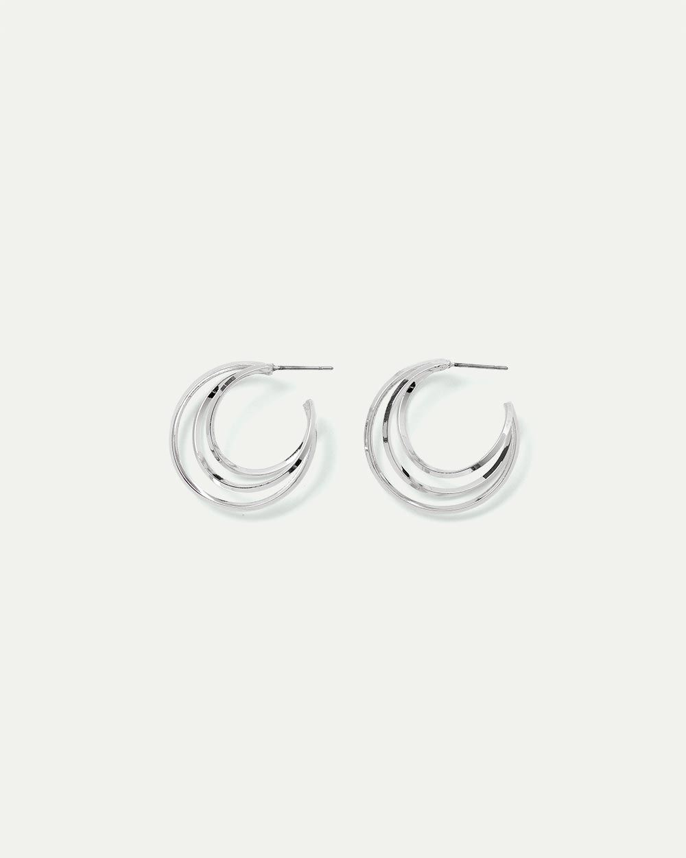 Triple Wire Hoop Earrings