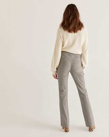 The Iconic Bootcut Pull On Houndstooth Pants