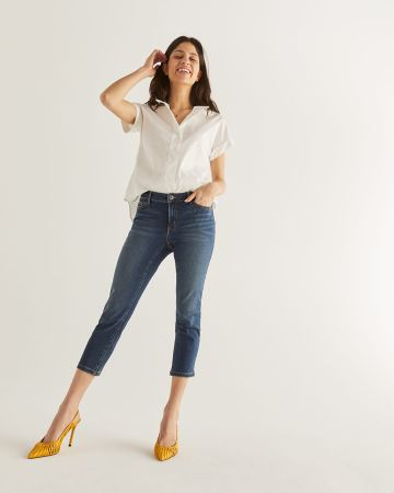 The Insider Cropped Skinny Jeans
