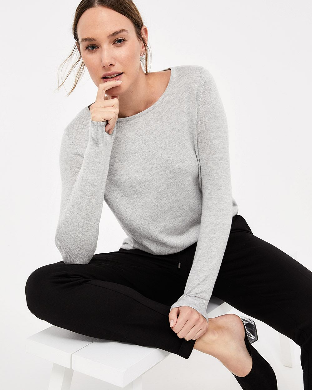 R Essentials Crew Neck Sweater