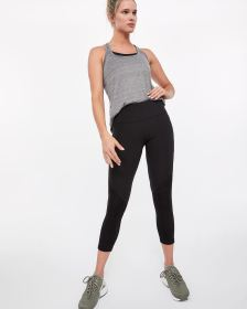 Hyba Perforated Cropped Legging