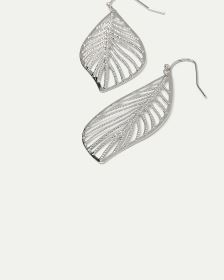 Leaf Pendant Earrings