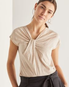 Willow & Thread Knotted Neck Tee