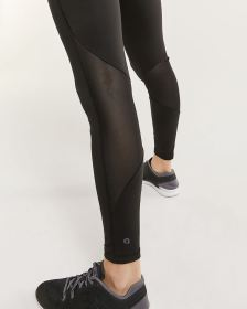 Ankle Leggings with Mesh Inserts Hyba
