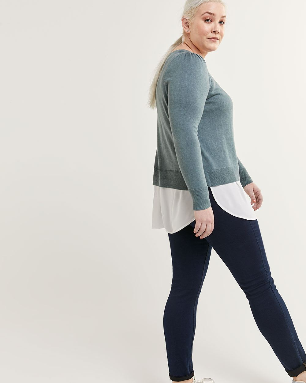 Fooler Top Sweater - Petite