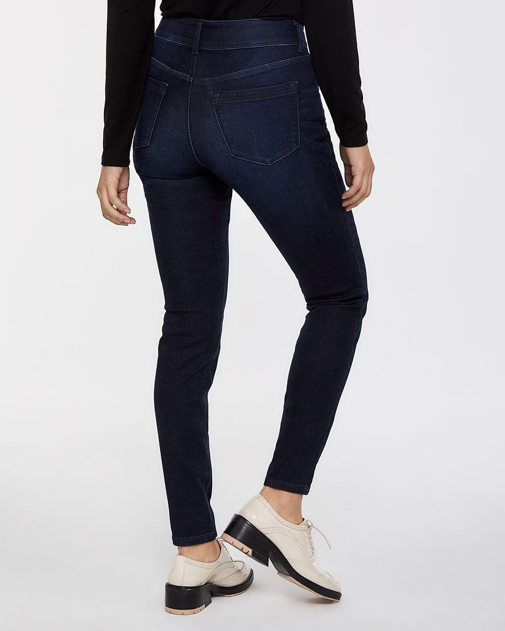 The Petite Urban Contour Double Shank Skinny Jeans
