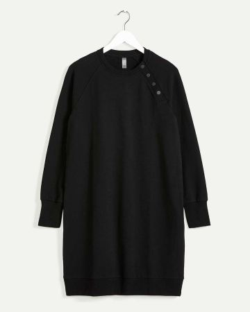Long Sleeve French Terry Dress Hyba