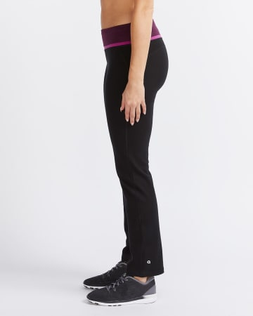 Hyba Colourblock Straight Leg Pants