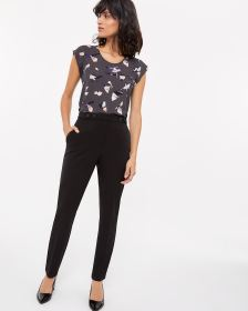 High Rise Skinny Leg Pants