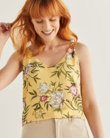 R Essentials Reversible Printed Urban Cami