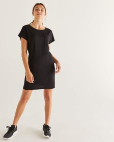 Hyba French Terry T-Shirt Dress