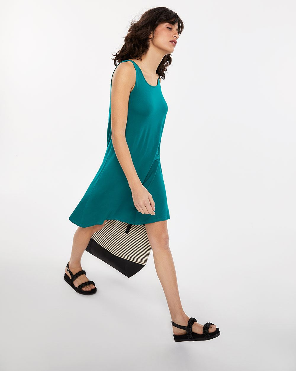 Sleeveless Reversible Dress