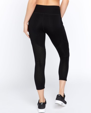 Hyba Airtech Perforated Cropped Legging