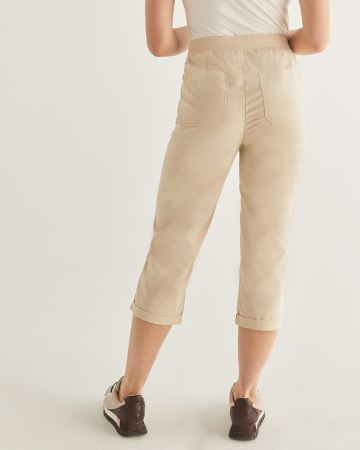 Cotton Capri with Pockets - Petite