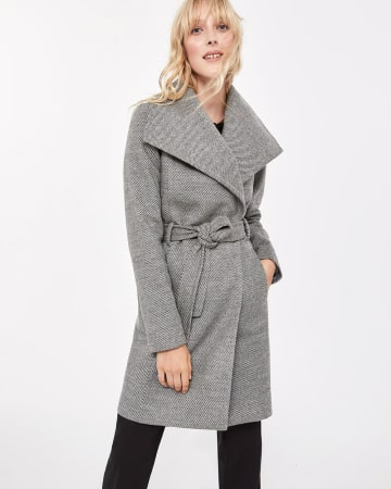 Waterfall Collar Coat