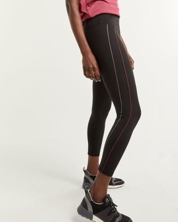 Ankle Leggings with Contrast Stitches Hyba