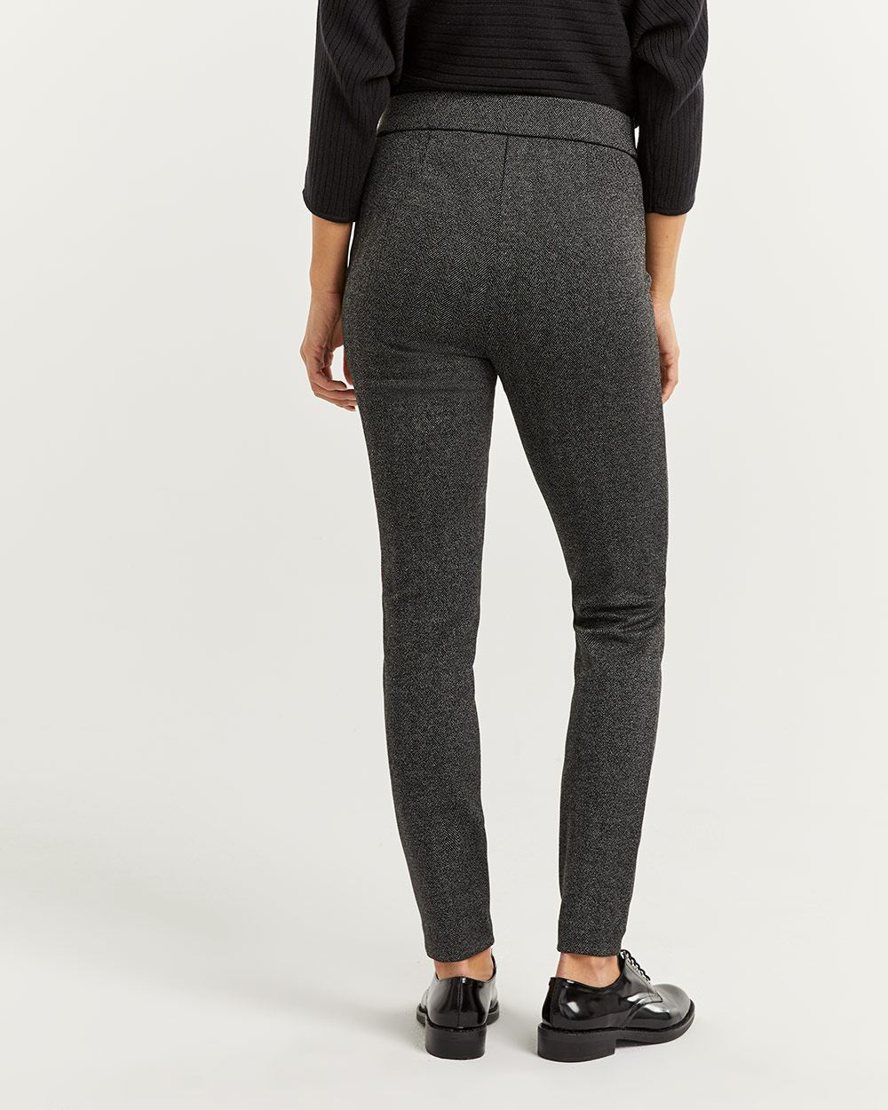 Herringbone Jacquard Leggings
