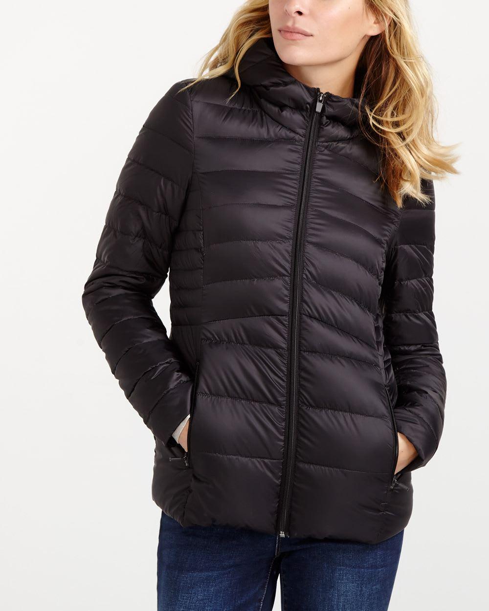 Packable down jacket women