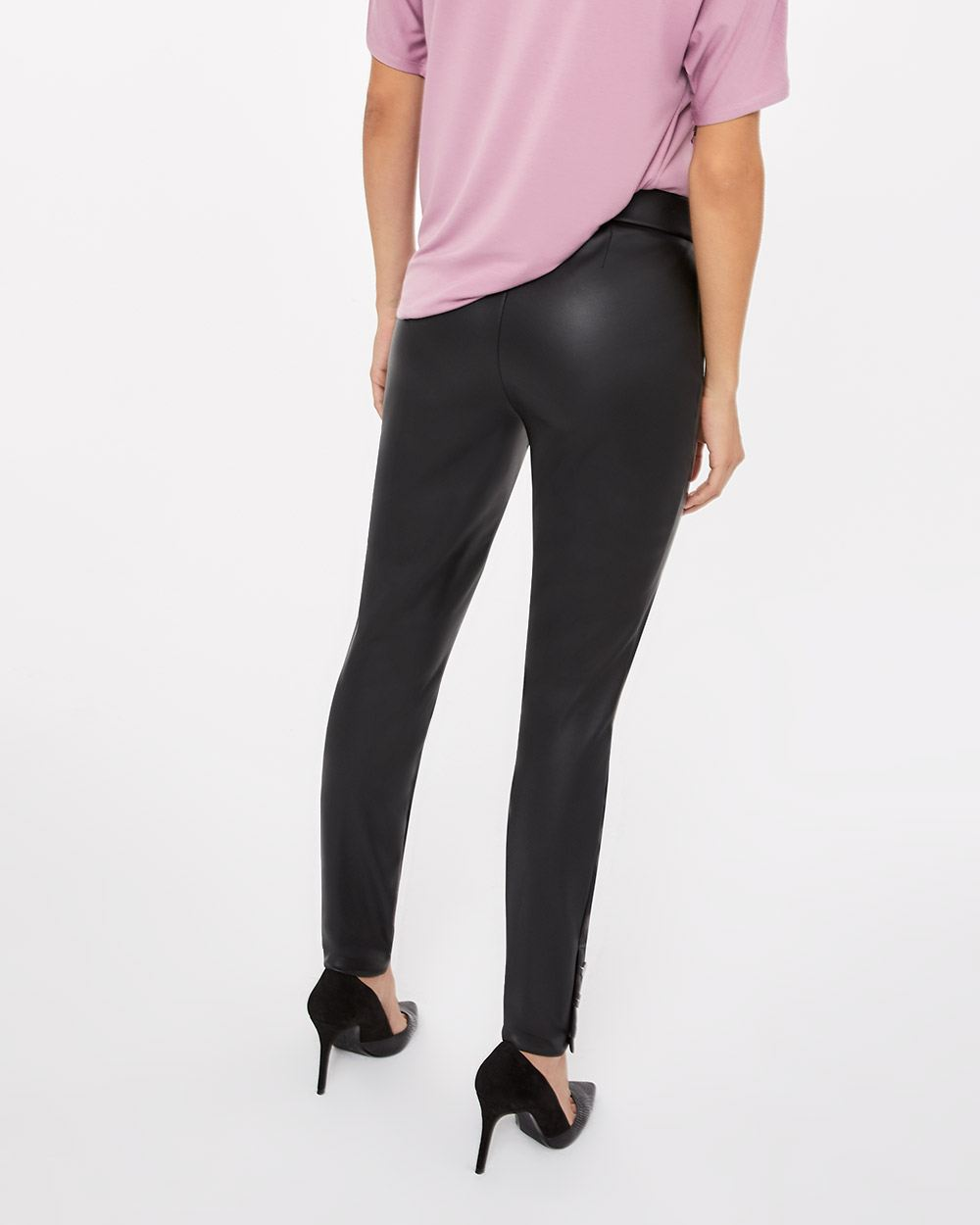 Faux Leather Novelty Leggings