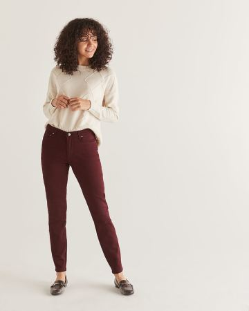 The Coloured Sculpting Skinny Pants - Petite