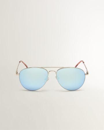 56109d16105c Coloured-Lenses Aviator Sunglasses