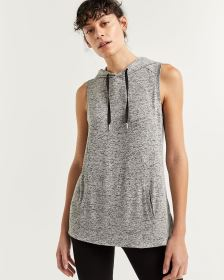 Sleeveless Hooded Top Hyba