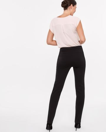 Pantalon à jambe droite Le Stretch Moderne Long