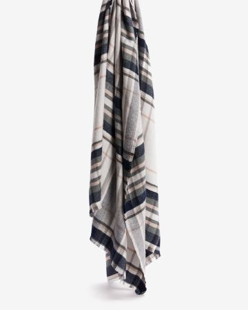 Super Soft Plaid Scarf