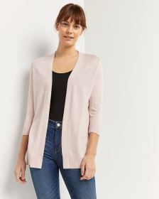 3/4 Sleeve Cardigan R Essentials