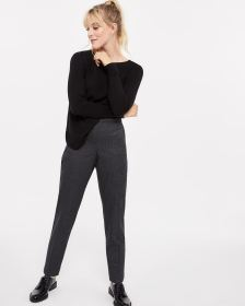 The Petite Printed Pull On Skinny Leg Pants