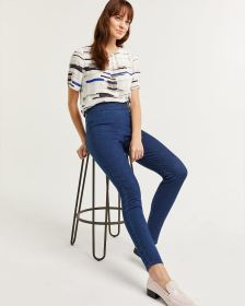 High Rise Denim Pull On Jeggings - Tall