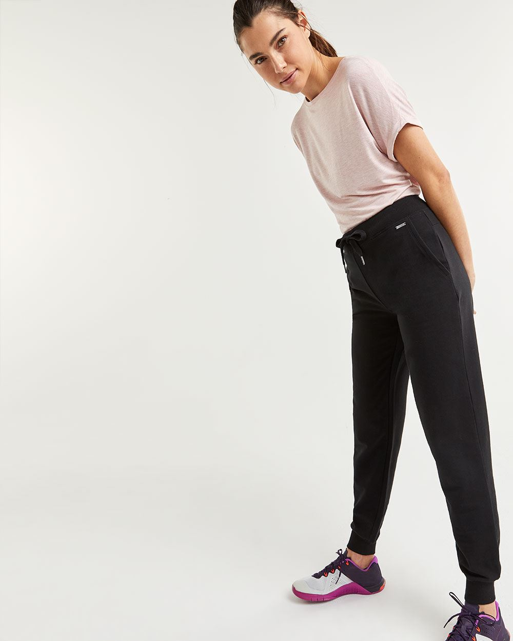 French Terry Jogger Pants Hyba - Petite