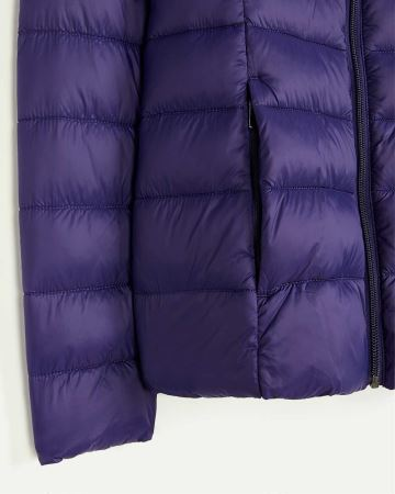 Packable Hooded Quilted Jacket